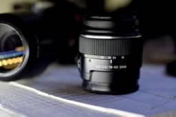 Sony Alpha 200 com 2 lentes (70-300, 18-55mm) câmera fotográfica seminova.