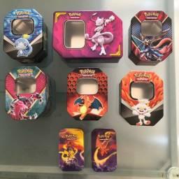 8 latas de Pokémon