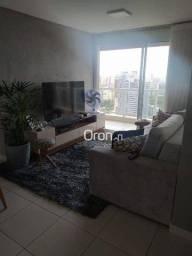 Apartamento com 2 dormitórios à venda, 64 m² por R$ 430.000,00 - Setor Oeste - Goiânia/GO
