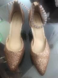 Sapato Feminino Tamanho 33/34
