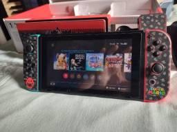 Nintendo Switch V2 Bateria Extendida Completo na caixa + Brinde
