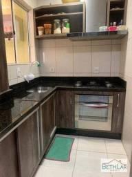Título do anúncio: Casa com 3 dormitórios à venda, 73 m² por R$ 375.000,00 - Loteamento Ouro Verde I - Campo