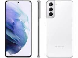 Samsung galaxy s21 + Carregador super charge + SmartTag + brinde ? aceito cartão.