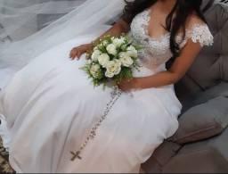 Vestido de noiva #seminovo #atelierDayaraOliveira