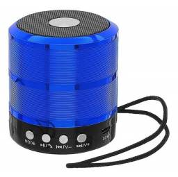 Mini Caixa de Som Bluetooth com entrada pra PenDrive novo na caixa
