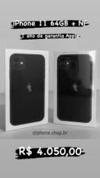 iPhone 11 64gb novo lacrado + NF