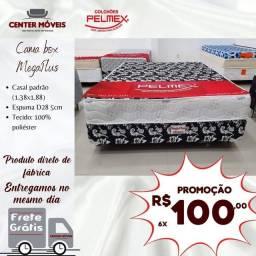 Título do anúncio: Cama cama cama de casal PELMEX entrega no mesmo dia da compra