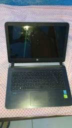 Notebook hp PARA PEÇAS, i5, Geforce 830m 2gb, 8gb ram