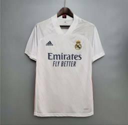 Camisa Real Madrid 20/21 Adidas