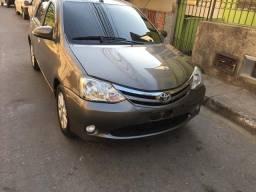 Toyota etios xls automático 2017 por toro ou oroch