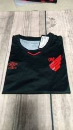 Camisa do Athletico paranaense baby look feminina