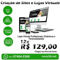 Título do anúncio: Criação de Lojas Virtuais Profissionais