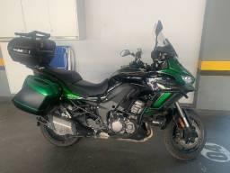 Título do anúncio: Moto Kawasaki Versys 1000 GT Nova Cor 21/21 - Com Assessorios