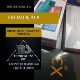 REDMI NOTE 9 64GB PROMOÇÃO!!