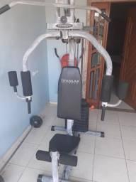 Estação de musculação residencial 50kg