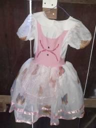 Vestido infantil tamanho 7 a 8 anos