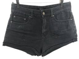 Shorts Jeans Preto Forever 21