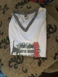 Camiseta regata tamanho 12