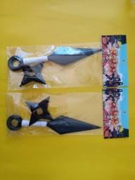 Kit 1 kunai + 1 shuriken