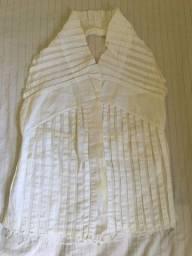 Blusa branca - Vendas da Carol