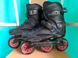 Patins rollerbrade RB custo 3 rodas 100 mm