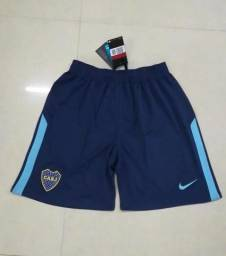 Short Boca Junior Azul