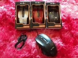 Mouse óptico USB
