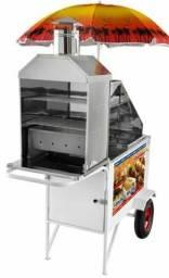 Carrinho de Hot Dog, Lanche, Churrasco Chlcl012 Armon
