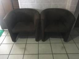 Cadeiras de apoio