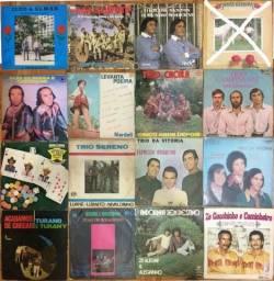 Discos de Vinil (LPs) sertanejos