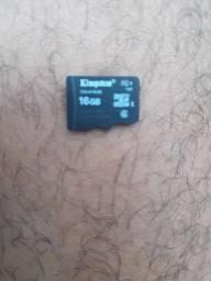 Cartão micro sd 16gb 20reais 991446144