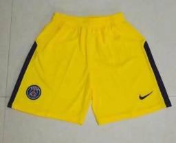 Short Paris Saint-Germain amarelo