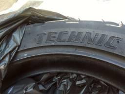 Par pneus zerados Technic para F800 medidas 90/90-21 e 150/70-17