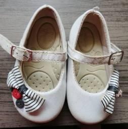 Kit Sapato bebê feminino Gota d?água (2 pares)
