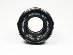 Lente Helios 44M 58mm f/2 Manual Rosca M42 para Canon, Nikon ou Sony com uso de adaptador