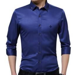 Camisa de grife dudalinda social original importada