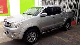 TOYOTA HILUX 2008/2009 2.7 SR 4X2 CD 16V GASOLINA 4P MANUAL - 2009