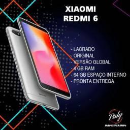 Redmi 6 // Xiaomi // 64GB // Original // Pronta entrega // Lacrado // Versão global //