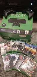 Xbox one 10 jogos e 2 controles