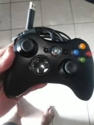 Controle com fio original para Xbox 360