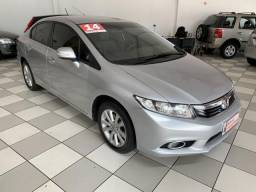 HONDA CIVIC SEDAN LXR 2.0 FLEXONE 16V AUT. 4P - 2014