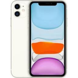 IPhone 11 64GB Branco Lacrado! com nota e garantia de 1 ano apple