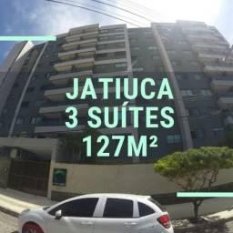 3 Suítes - 127m² - Jatiuca - 2 Vagas
