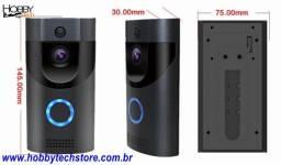 Campainha Wi-Fi B30 Câmera Hd