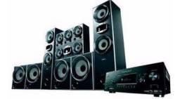 HOME THEATER MUTEKI 6.4 Canais 1500W Rms / Dolby Digital Sony - CJHTDDW2000