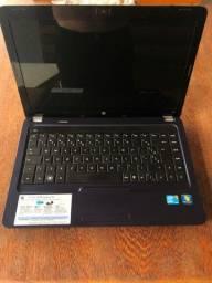 Notbook HP Core I5 2.4ghz, 6gb de memoria RAM: e HD de 320Gb, 14 polegadas