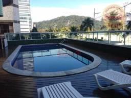 Apartamento com 3 dormitórios para alugar, 140 m² por R$ 4.300/mês - Canto do Forte - Prai