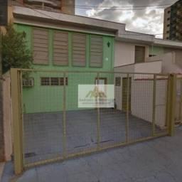 Sobrado com 4 dormitórios para alugar, 229 m² por R$ 2.000,00/mês - Centro - Ribeirão Pret