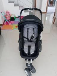 Carrinho de bebe Kiddo compass 2 preto