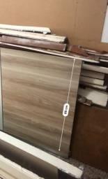 Duas portas para guarda roupa alvenaria madeira boa
